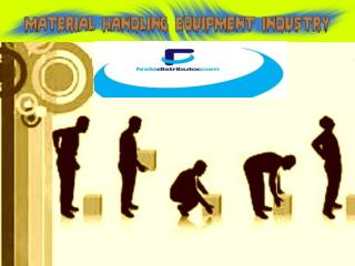 Different Material Handling Equipment's