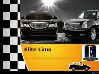 Elite Limo – Affordable Luxurious Fleets Any Time
