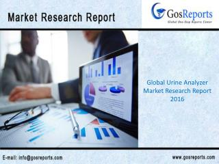 Global Urine Analyzer Market Research Report 2016
