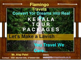 Convert Your Dreams Into Real By Visit Kerala Trip | Flamingo Travels