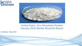 US Zinc Phosphate Powder Market Forecasts to 2021