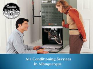 Air Conditioning service in Albuquerque