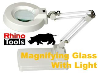 Magnifying Glass With Light - Rhino Tools