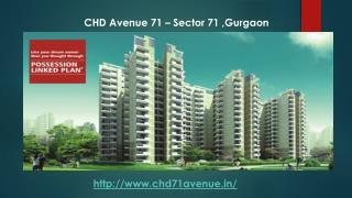CHD Avenue 71 Apartments In Sector 71 Gurgaon