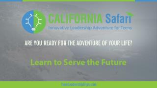 Learn to Serve the Future | Summer Training California | Learn Silicon Valley Innovation