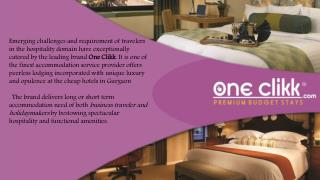 One Clikk Hotels Room in Gurgaon