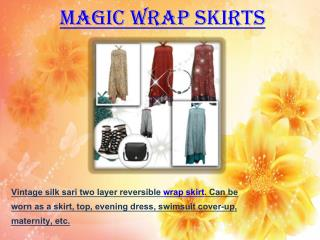 Magic Wrap Skirts