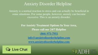 Anxiety Disorder Helpline