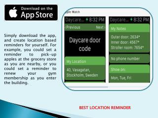To Do List App for iOS, Apple Watch