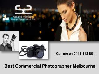 Best Commercial Photographer Melbourne