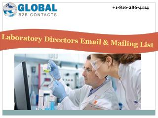Laboratory directors Email & Mailing List