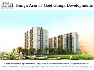 Residential Projects at Goel Ganga Aria in Dhanori Pune for Sale