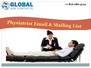 Physiatrist Email & Mailing List