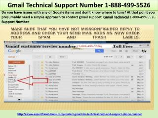 Gmail Technical Support Number 1-888-499-5526