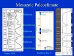 Mesozoic Paleoclimate