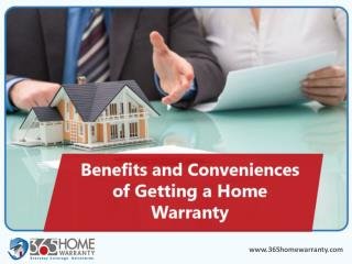 Benefits of Getting a Home Warranty Plan
