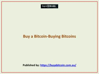 Buy a Bitcoin-Buying Bitcoins