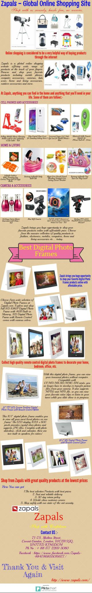 Buy Best Digital Photo Frames Online
