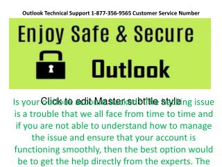 Creating New Outlook mail Account With more Security Feature