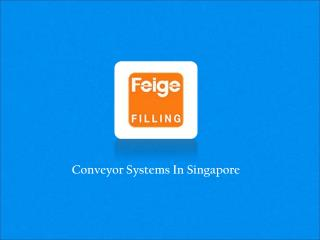 Conveyor Systems In Singapore