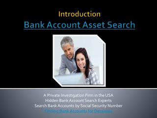How to Find Hidden Bank Accounts
