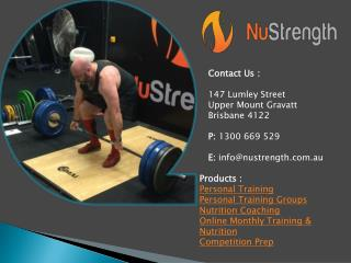 Gym Training Brisbane, QLD
