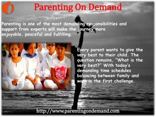 Online Parenting Skill Adviser