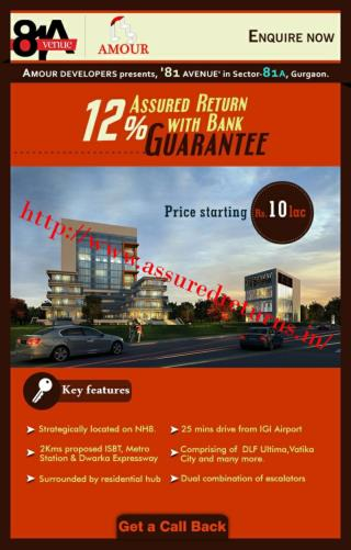 Buy Commercial Property and Get 9%-12% Assured return guaranteed