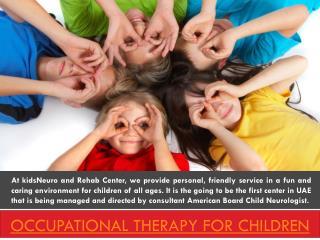 speech therapy in dubai