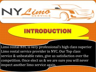 Affordable Limo Service in NYC
