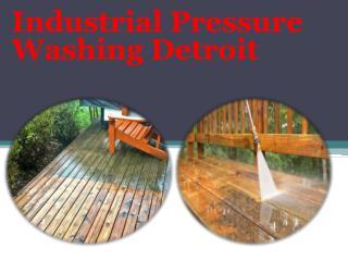 Industrial Pressure Washing Detroit