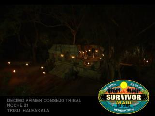 Survivor Maui Consejo 11