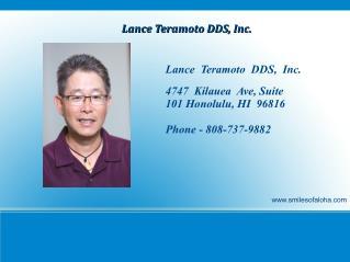 Lance Teramoto DDS