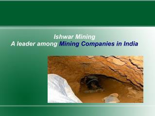 Ishwar Mining - Mining Companies In India