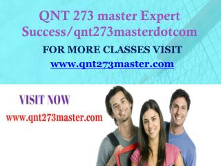 QNT 273 master Expect Success/qnt273masterdotcom