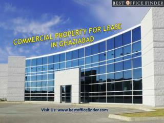 Commercial property for lease in Ghaziabad