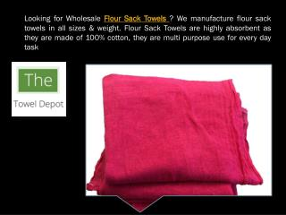 Looking for Flour Sack Towels