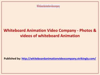 Photos & videos of whiteboard Animation