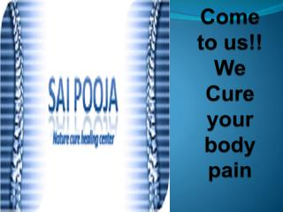 Chiropractic treatment that provide effective pain relief