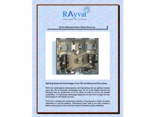 3D Architecture Floor plan Services