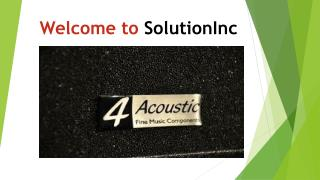 welcome to solution inc