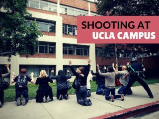 Shooting at UCLA campus