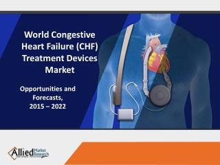 Congestive Heart Failure Treatment Devices Market Overview 2022