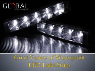 Great Variety of Waterproof LED Light Strips