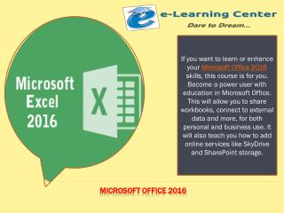 Microsoft Office 2016, Word, PowerPoint