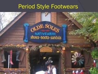 Period Footwear