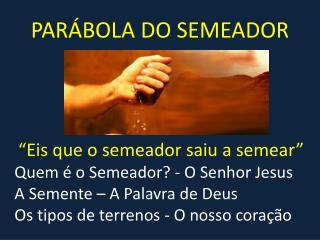 parabola semeador