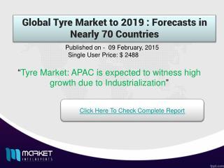 Key Factors Global Tyre Market to 2019