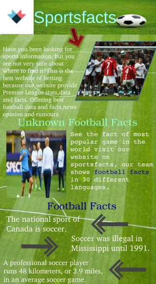 Unknown Football Facts