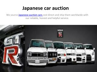 japanese car auction